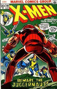 Cover Thumbnail for The X-Men (Marvel, 1963 series) #80