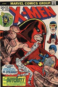 Cover Thumbnail for The X-Men (Marvel, 1963 series) #81