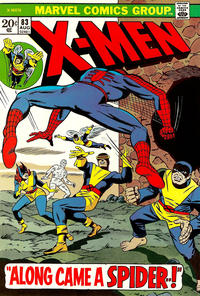 Cover Thumbnail for The X-Men (Marvel, 1963 series) #83