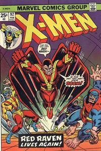 Cover Thumbnail for The X-Men (Marvel, 1963 series) #92 [Regular Edition]