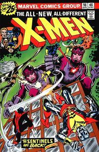Cover Thumbnail for The X-Men (Marvel, 1963 series) #98 [25¢]