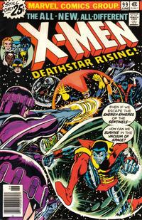 Cover Thumbnail for The X-Men (Marvel, 1963 series) #99 [25¢]