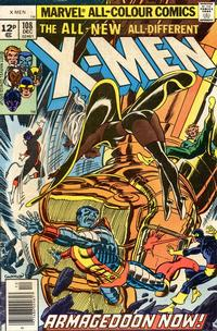 Cover Thumbnail for The X-Men (Marvel, 1963 series) #108 [British]