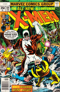 Cover Thumbnail for The X-Men (Marvel, 1963 series) #109 [Regular Edition]