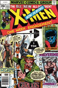 Cover Thumbnail for The X-Men (Marvel, 1963 series) #111 [Regular Edition]