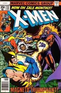 Cover Thumbnail for The X-Men (Marvel, 1963 series) #112 [Regular Edition]