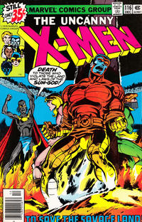 Cover Thumbnail for The X-Men (Marvel, 1963 series) #116 [Regular Edition]