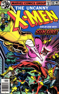 Cover Thumbnail for The X-Men (Marvel, 1963 series) #118 [Newsstand]