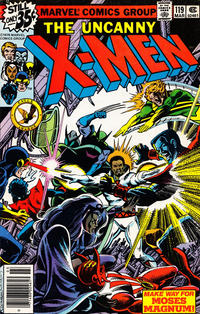 Cover Thumbnail for The X-Men (Marvel, 1963 series) #119 [Direct Edition]