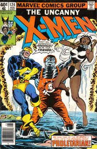Cover Thumbnail for The X-Men (Marvel, 1963 series) #124 [Direct Edition]