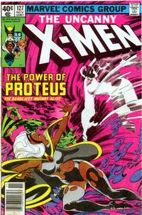 Cover Thumbnail for The X-Men (Marvel, 1963 series) #127 [Newsstand]