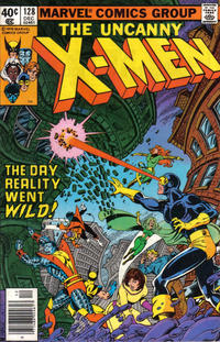 Cover Thumbnail for The X-Men (Marvel, 1963 series) #128 [Newsstand]