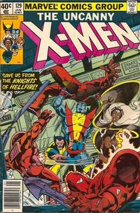 Cover Thumbnail for The X-Men (Marvel, 1963 series) #129 [Newsstand]