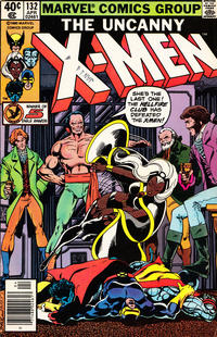Cover Thumbnail for The X-Men (Marvel, 1963 series) #132 [Newsstand]