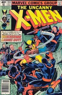 Cover Thumbnail for The X-Men (Marvel, 1963 series) #133 [Newsstand]