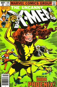 Cover Thumbnail for The X-Men (Marvel, 1963 series) #135 [Newsstand]