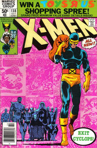 Cover Thumbnail for The X-Men (Marvel, 1963 series) #138 [Newsstand]