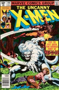 Cover Thumbnail for The X-Men (Marvel, 1963 series) #140 [Newsstand]