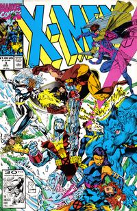 Cover for X-Men (Marvel, 1991 series) #3 [Direct Edition]
