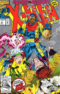 Cover Thumbnail for X-Men (Marvel, 1991 series) #8 [Direct Edition]