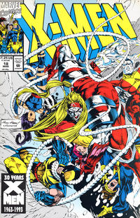 Cover Thumbnail for X-Men (Marvel, 1991 series) #18 [Direct Edition]