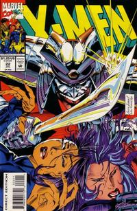 Cover for X-Men (Marvel, 1991 series) #22 [Direct Edition]