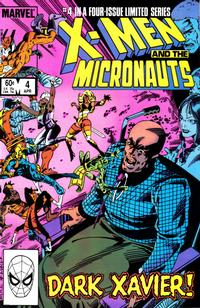 Cover Thumbnail for The X-Men and the Micronauts (Marvel, 1984 series) #4 [Direct Edition]