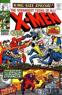 Cover Thumbnail for X-Men Annual (Marvel, 1970 series) #1