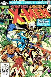Cover Thumbnail for X-Men Annual (Marvel, 1970 series) #5 [Direct Edition]