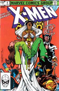 Cover Thumbnail for X-Men Annual (Marvel, 1970 series) #6 [Direct]
