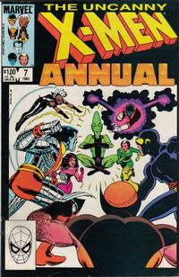 Cover Thumbnail for X-Men Annual (Marvel, 1970 series) #7