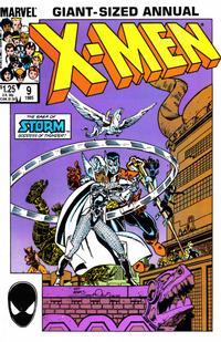 Cover Thumbnail for X-Men Annual (Marvel, 1970 series) #9 [Direct]