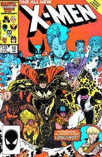 Cover Thumbnail for X-Men Annual (Marvel, 1970 series) #10 [Direct]