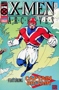 Cover Thumbnail for X-Men Archives Featuring Captain Britain (Marvel, 1995 series) #1