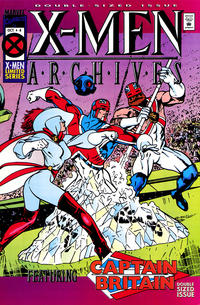Cover Thumbnail for X-Men Archives Featuring Captain Britain (Marvel, 1995 series) #4