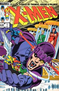 Cover Thumbnail for X-Men Classics Starring the X-Men (Marvel, 1983 series) #1