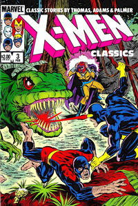 Cover for X-Men Classics Starring the X-Men (Marvel, 1983 series) #3