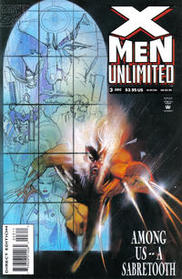 Cover Thumbnail for X-Men Unlimited (Marvel, 1993 series) #3 [Direct Edition]