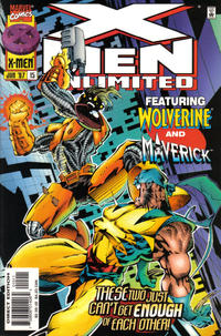 Cover for X-Men Unlimited (Marvel, 1993 series) #15 [Direct Edition]