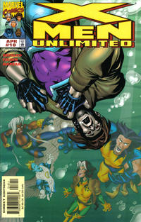 Cover Thumbnail for X-Men Unlimited (Marvel, 1993 series) #18 [Direct Edition]