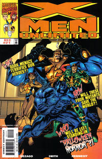 Cover Thumbnail for X-Men Unlimited (Marvel, 1993 series) #21 [Direct Edition]
