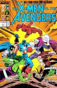 Cover Thumbnail for The X-Men vs. The Avengers (Marvel, 1987 series) #1 [Direct]