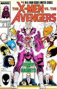Cover Thumbnail for The X-Men vs. The Avengers (Marvel, 1987 series) #4 [Direct]