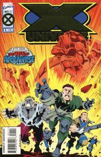Cover Thumbnail for X-Universe (Marvel, 1995 series) #1 [Direct Edition]