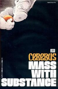 Cover Thumbnail for Cerebus (Aardvark-Vanaheim, 1977 series) #103