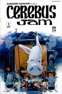 Cover Thumbnail for Cerebus Jam (Aardvark-Vanaheim, 1985 series) #1