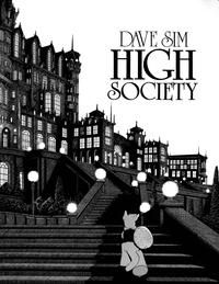 Cover Thumbnail for Cerebus (Aardvark-Vanaheim, 1986 series) #2 - High Society [First Printing]