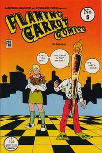 Cover Thumbnail for Flaming Carrot Comics (Aardvark-Vanaheim and Renegade Press, 1985 series) #5