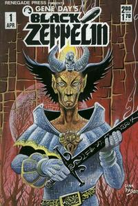 Cover Thumbnail for Gene Day's Black Zeppelin (Renegade Press, 1985 series) #1