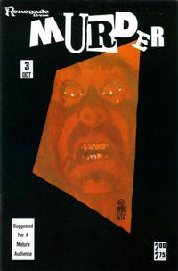 Cover Thumbnail for Murder (Renegade Press, 1986 series) #3
